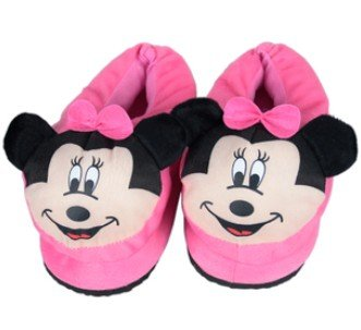 Minnie Mouse Heated Slippers