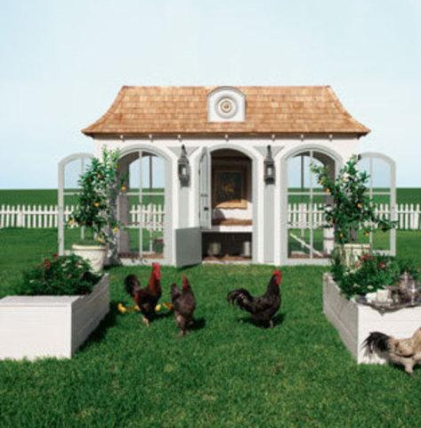 La Petit Trianon from Heritage Hen Farm