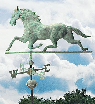 Trotter Weather Vane