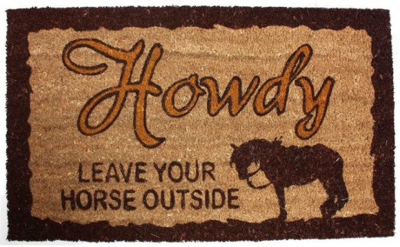 Howdy Doormat