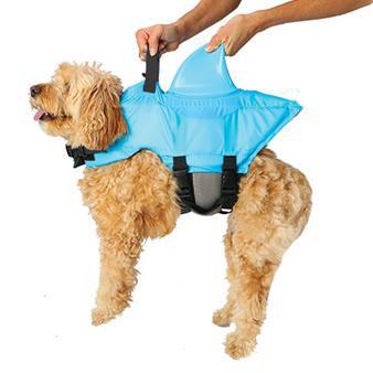 Sea Squirts Shark Fin Doggie Jacket