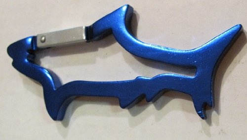 Shark Carabiner Key Chain