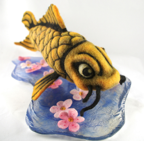 Koi by Mahuna: Some excellent fish art by Mahuna.