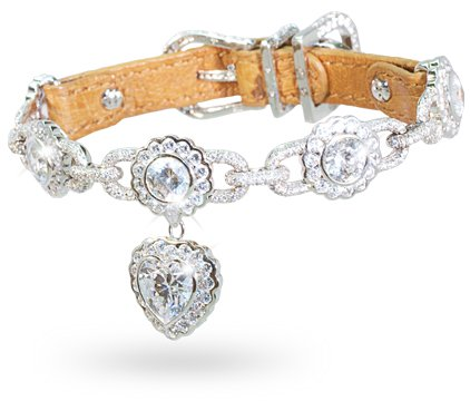 La Chéri diamond dog collar: © I Love Dogs Diamonds