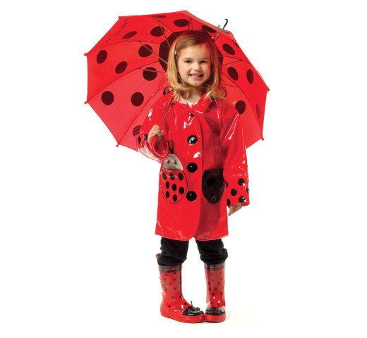 Kiddorable Ladybug Raincoat