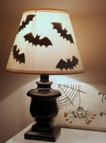 Simple DIY Bat Lamp