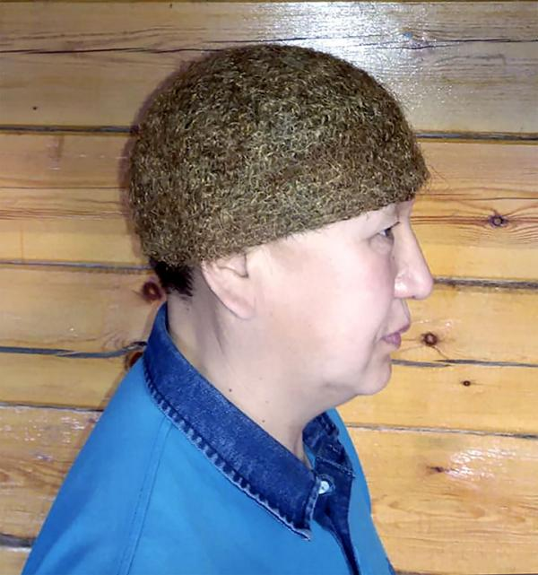 World's Only Mammoth Wool Hat