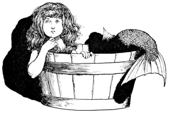 Mermaid (Public Domain Image)