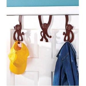 Over the Door Monkey Hangers