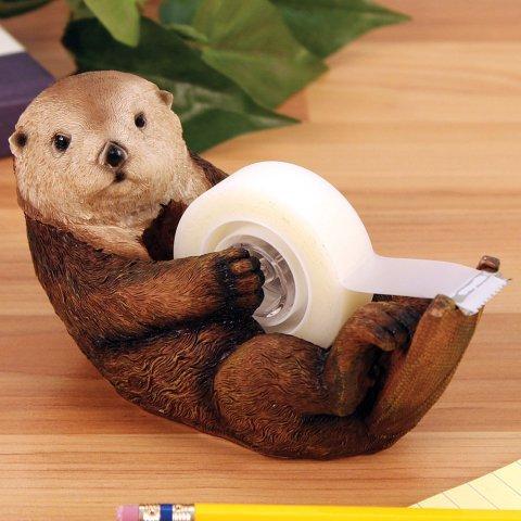 Otto the Otter Tape Dispenser