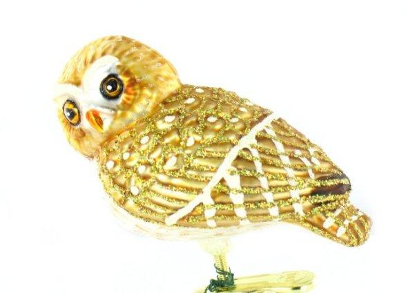 Pygmy Owl Ornament