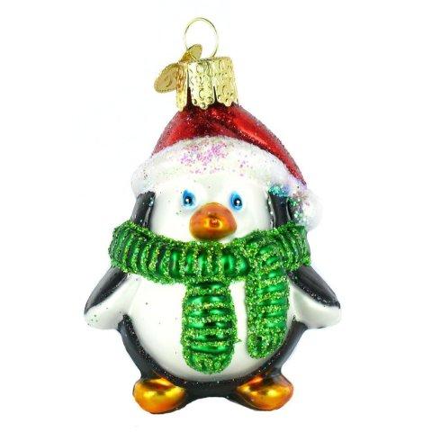 Playful Penguin Christmas Ornament