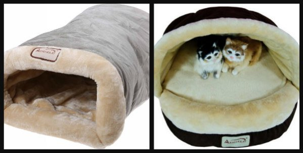 Armarkat Pet Bedding: Pet caves and snuggling sacks