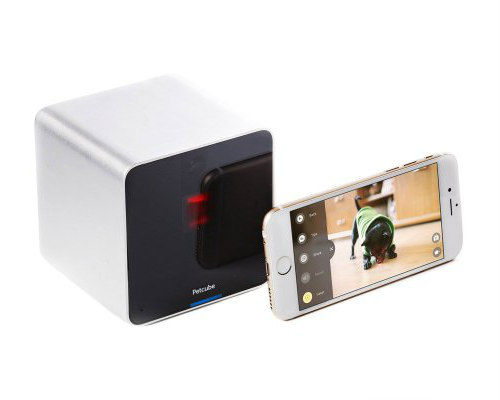 Petcube Wi-Fi Pet Camera Keeps You & Your Pet In Touch: Home monitoring device for pets