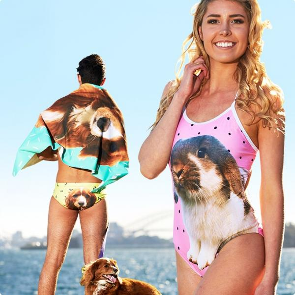 Petflair Puts Your Pet's Face On A Swimsuit
