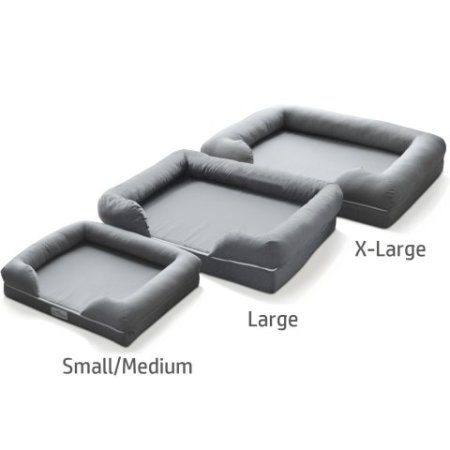 Pet Fusion Dog Lounge & Bed comes in 3 sizes