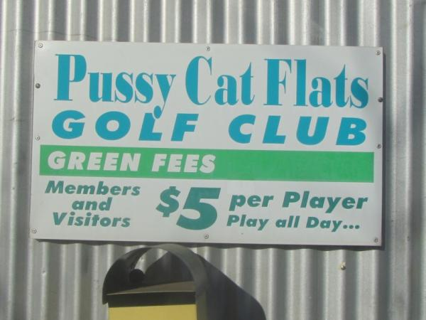 Real Places Named After Cats - Pussy Cat Flats