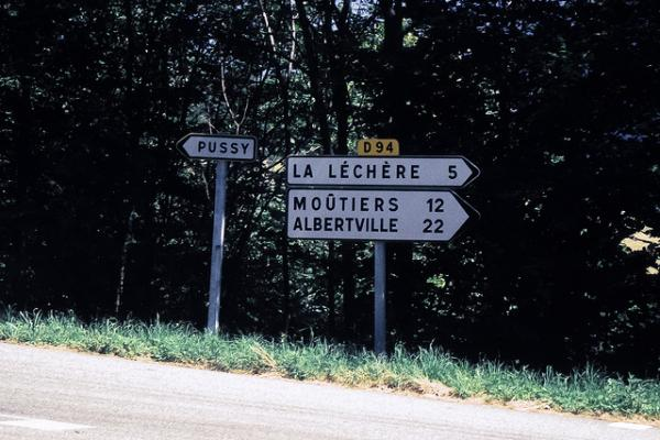 Real Places Named After Cats - Pussy, France