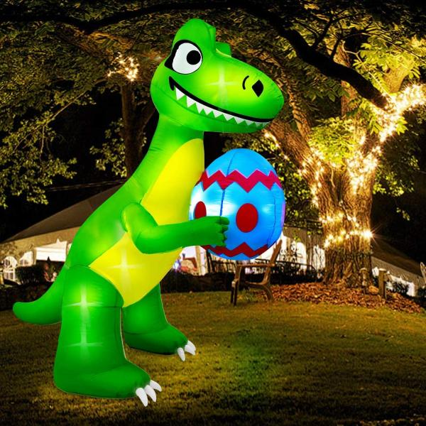 Easter T-Rex Inflatable