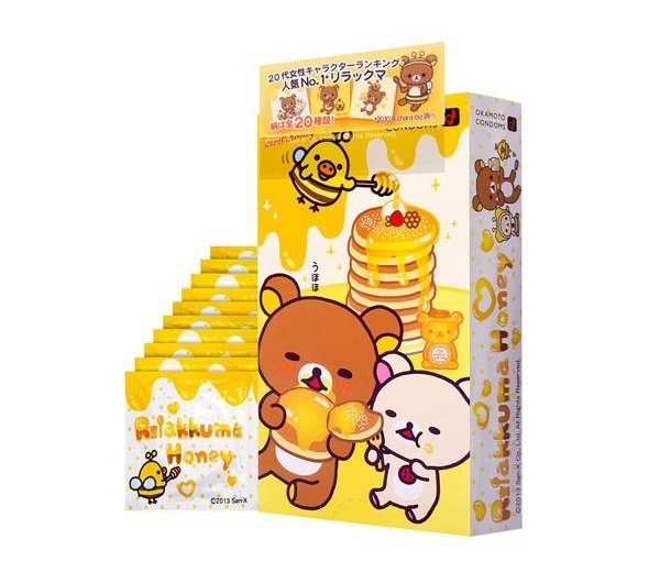 Rilakkuma Condoms Make Intimate Encounters A Little Less Grizzly