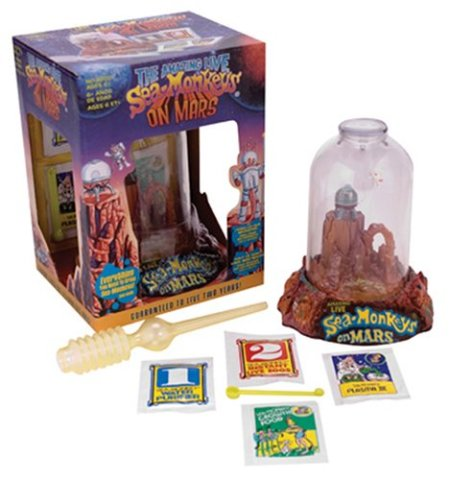 Sea Monkeys on Mars