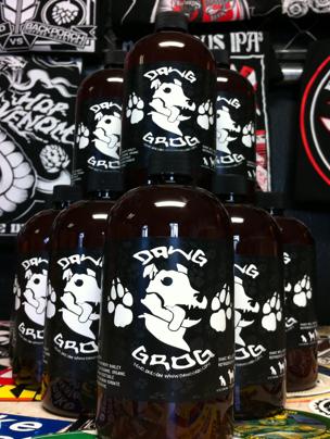 Dawg Grog dog beer: ©Dawg Grog
