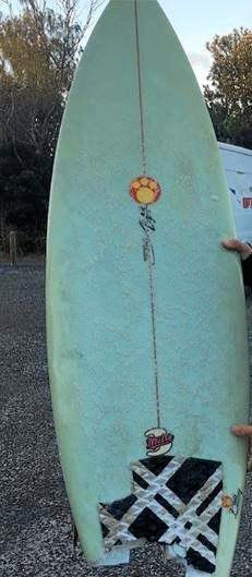 Shark Bites Surfboard, Leaves Toothy Calling Card