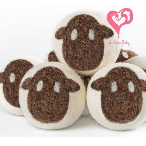 Wool Lamb Dryer Balls