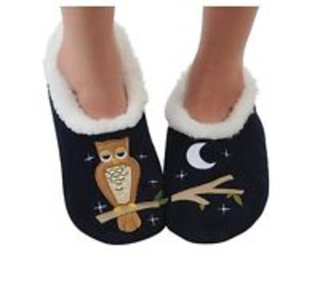 Up Owl Night Slippers