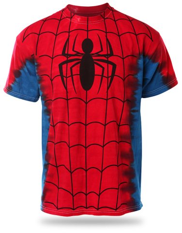 Spider-Man Tie-Dyed T-Shirt