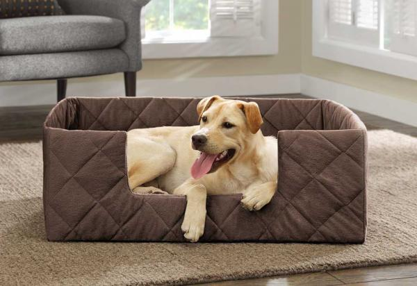 The Portable Pet Bed by Hammacher Schlemmer