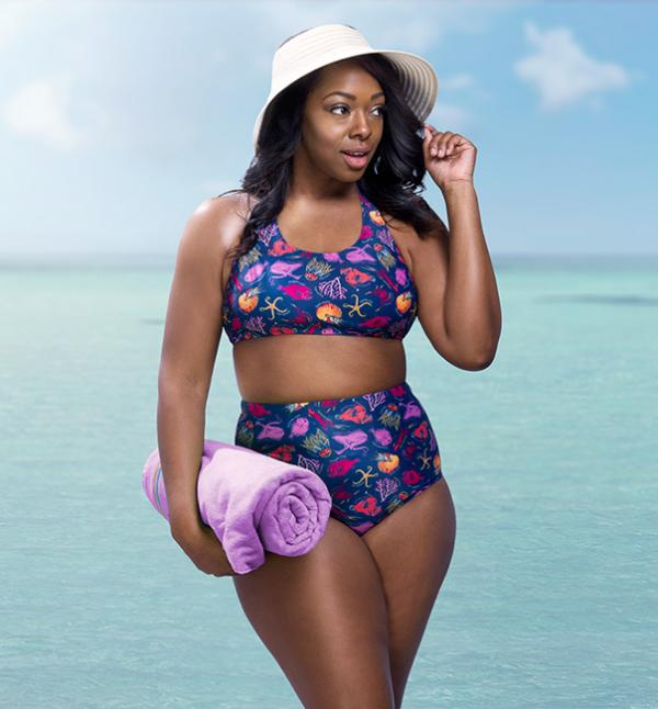 Deep Sea Creatures Two-Piece Swimsuit