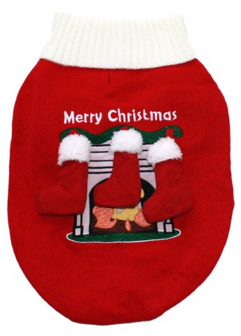 Christmas Stockings Ugly Dog Sweater
