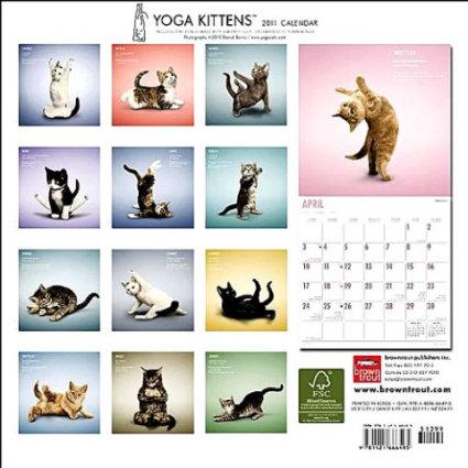 Yoga Kittens 2011 (Cat) Calendar