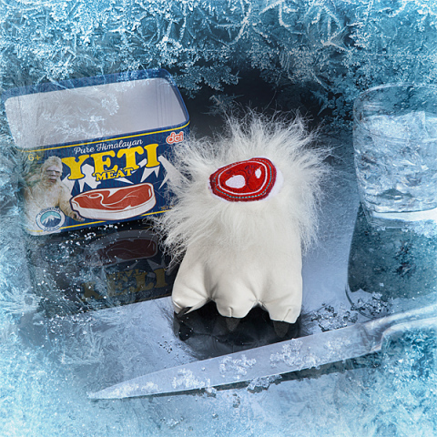 Canned Yeti Meat