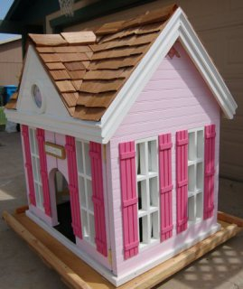 Jwoww's Palacial Palace Indoor Dog House: design by Rockstar Puppy, featured in NY Times, 6.27.12