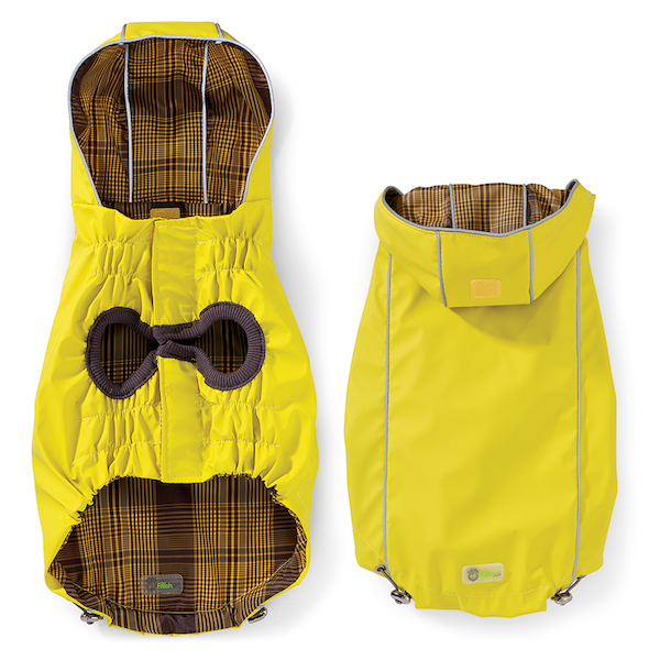 Reversible Elasto-Fit® Dog Raincoat