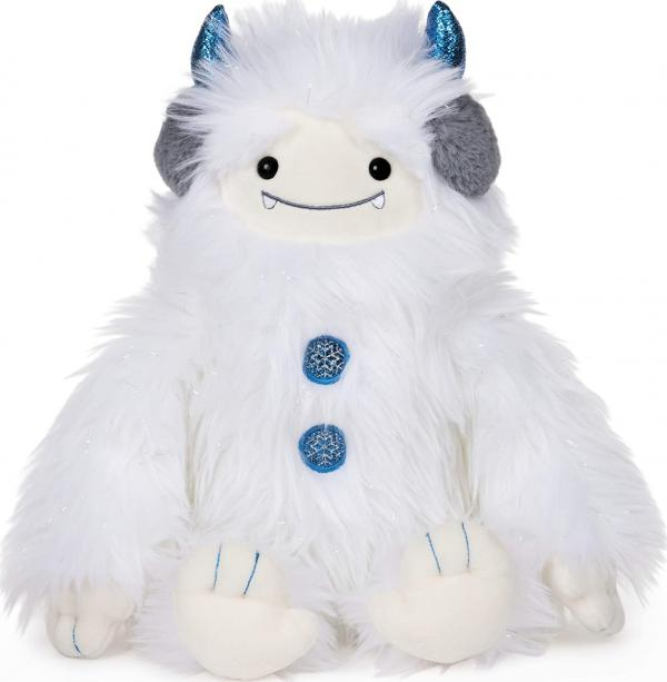 Plush Tinsel Yeti