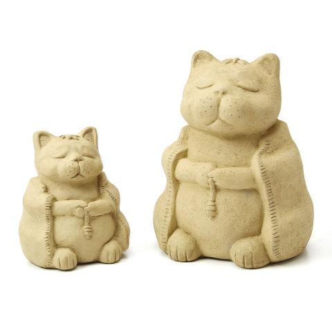 Zen Animal Sculptures -- Cat