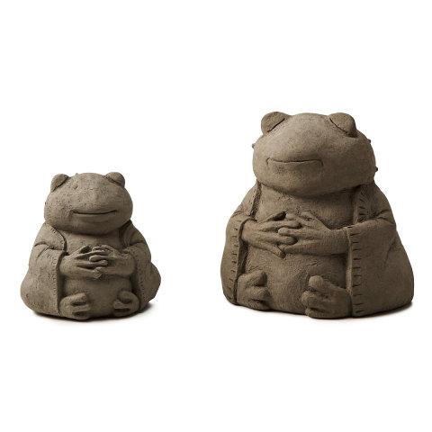 Zen Animal Sculptures -- Frog