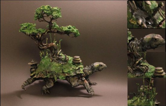 Zen Turtle by El
