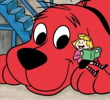 Clifford the Big Red Dog (image via CtBRD on Facebook)