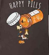 Happy Pills Dog Lover's T-Shirt