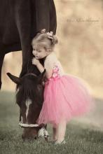 Horse and Tiny Ballerina