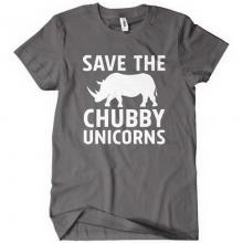 Save the Chubby Unicorns T-Shirt
