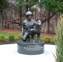 OK K-9: Ten Awesome Paw-some War Dogs Monuments