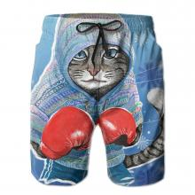 Boxing Cat Swim Trunks