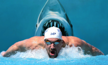 Man vs. Jaws In Race To The Finish