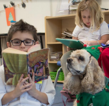 """ARF"" & ""Tailwaggin' Tutors"" Makes Reading Dog-Gone Fun in Beaufort, SC"