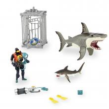 Shark Attack Play Set